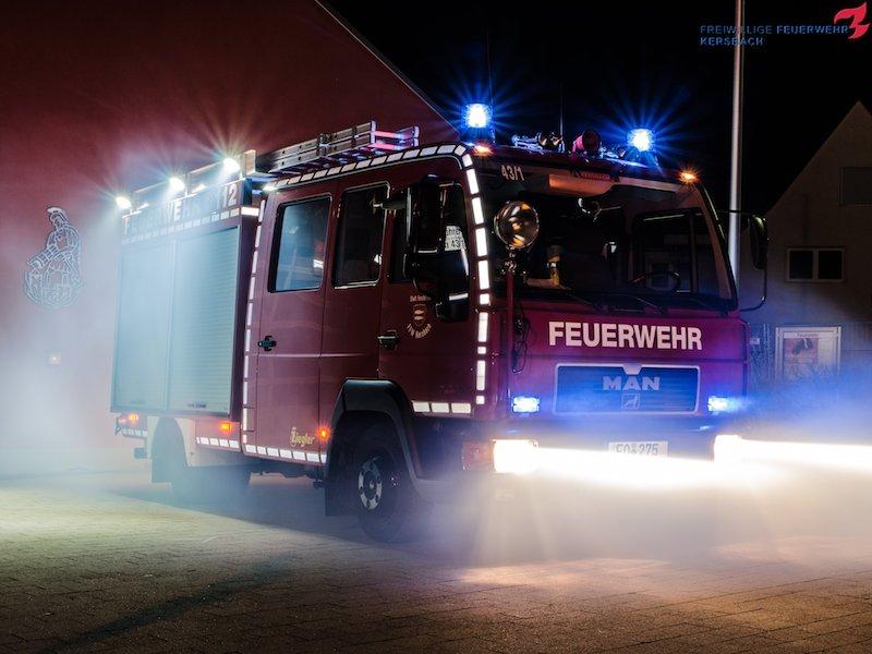 Jugend besucht die FF Adelsdorf