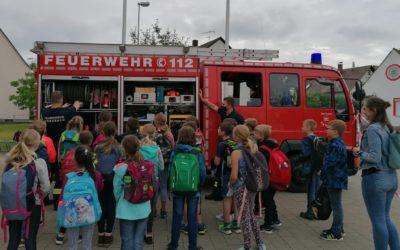 Kersbacher Schüler besuchen die FF Kersbach